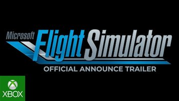 E3 2019 – Le retour de Flight Simulator