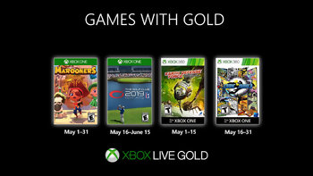 Games with Gold: Free games for May 2019