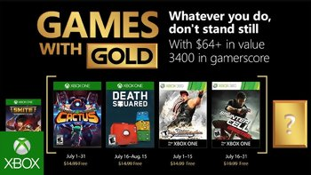 Games with Gold: Free games for July 2018