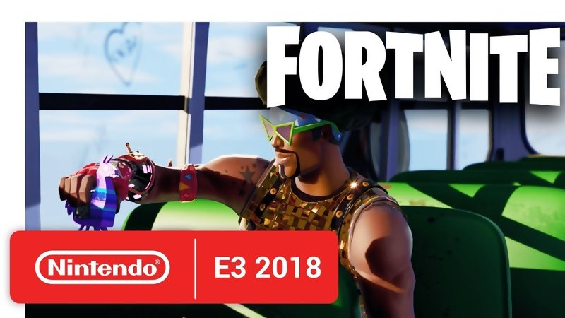 E3 2018 - Fortnite show up on Switch