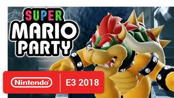 E3 2018 - Nintendo announced Super Mario Party