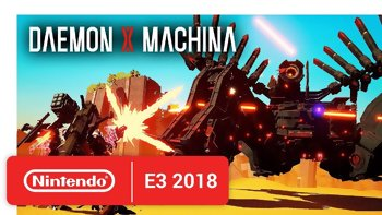 E3 2018 - Nintendo announced Daemon X Machina