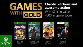 Games with Gold: Free games for October 2018