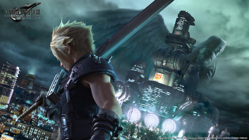 Final Fantasy 7 Remake - Gameplay Trailer