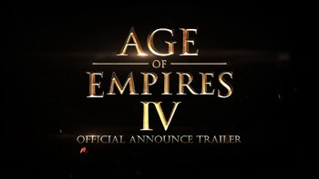 Age of Empire 4 - Trailer d'annonce