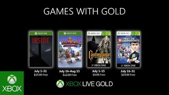 Games with Gold: Free games for July 2019