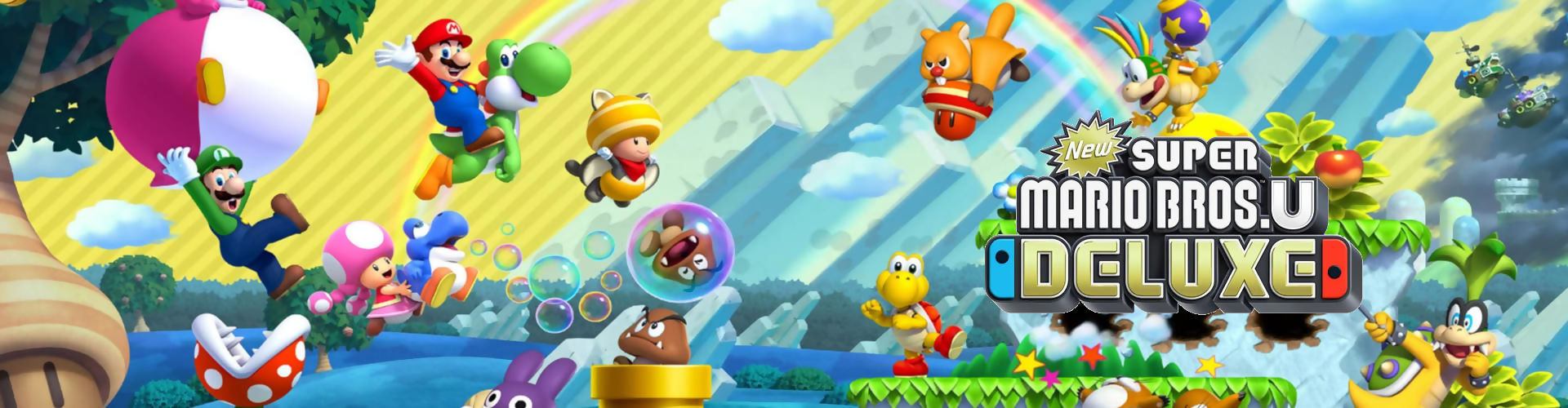 New Super Mario Bros. U Deluxe reviews are here