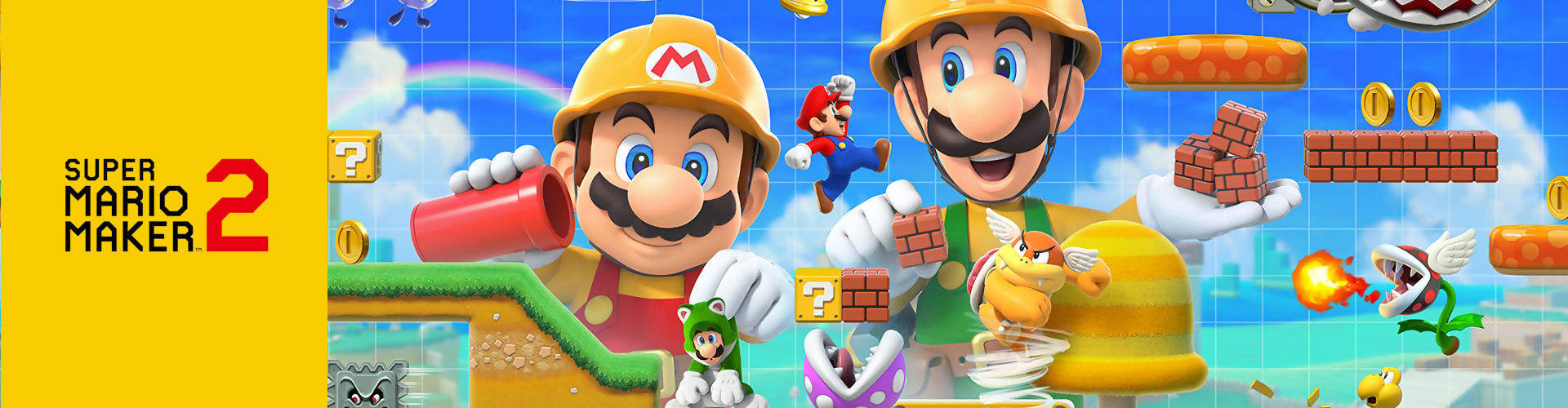 Check out all the Super Mario Maker 2 reviews
